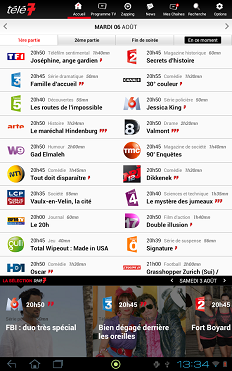 application télé 7 jours